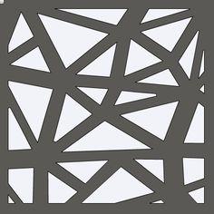 Geometric Stencil Style 2 12x12 by HouseofDavis on Etsy