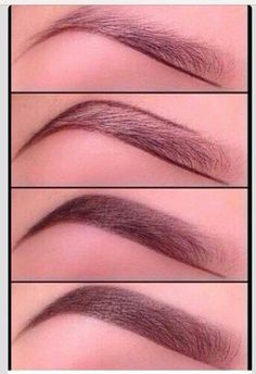 How to get the perfect eyebrow. Love it!