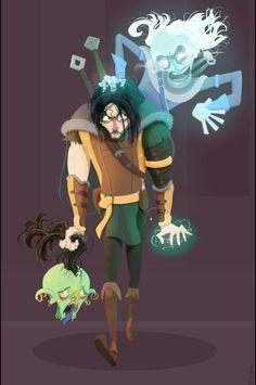 Talion And Celebrimbor Get Cartoony In Shadow Of Mordor Fanart - News - www.GameInformer.com