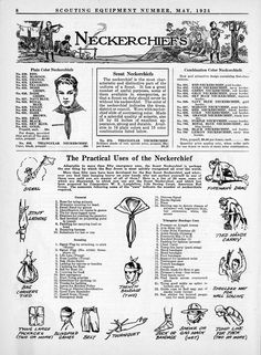 1925 Scouting Equipment Catalog | Scoutmastercg.com