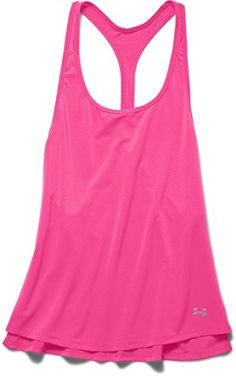 Under Armour Women's HeatGear Armour Mesh Tank Top - Size MEDIUM - Color REBEL PINK - Loose Fit - HeatGear - Sleeveless - Style #1265167. Available while supplies last!  http://www.amazon.com/dp/B00NF4L5W0/ref=cm_sw_r_pi_dp_oHhtxb0SWW081