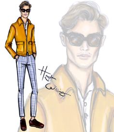 #LCM sketches - Oliver Cheshire by Hayden Williams