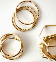 chanel bag, fashion, stack ring, ring set, accessori, gold rings, stacking rings, jewelri, gold bangl
