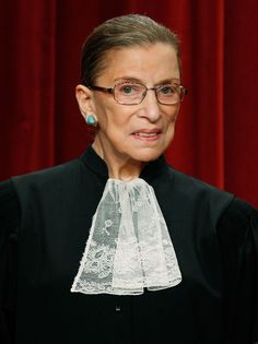 """""""If you're going to change things, you have to be with the people who hold the levers."""" - Ruth Bader Ginsburg"""