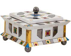 """Boîte carrée ´Parure"""""""
