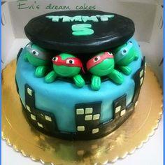 teenage turtles cake