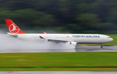 Turkish Airlines. Airbus A330-343E.