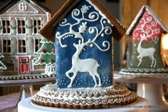 Most original gingerbread houses by: https://www.facebook.com/gingerbreadhousecompany