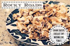Rocky Roads... A GREAT holiday treat to share. Or not-holiday treat to just... EAT.