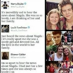 I pity the fans who say she doesn't care about directioners.