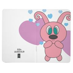 Pink Rollys Hearts Notepad Journal - heart gifts love hearts special diy