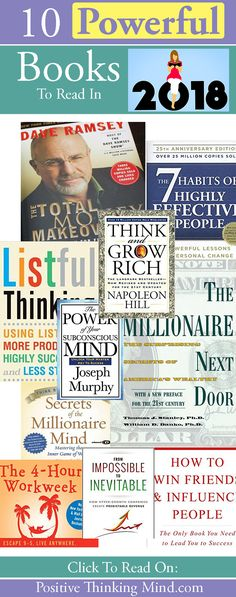 10 Powerful Books To Better Your Life #books #finance