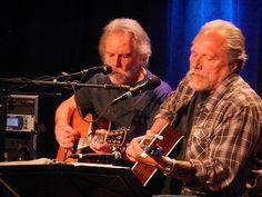 Bob Weir (Grateful Dead) and Jorma Kaukonen (Jefferson Starship, Hot Tuna)