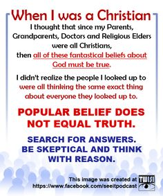I've never actually been a Christian (thank you so much Mum & Dad), but think this is worth the re-pin