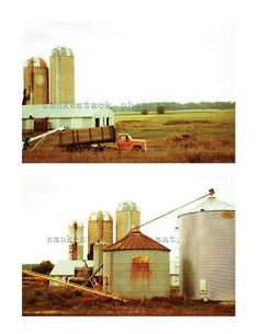 Midwest Vintage Farm Photograph by Smokestack Photomat, $20.00