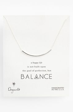 Dogeared 'Balance' Necklace