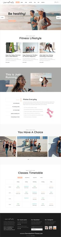 Succulents is clean and modern design 9in1 responsive #WordPress theme for #fitness, #gym, healthy lifestyle, nutrition and wellness centers website to download & live preview click on image or Visit #webdev