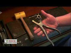 ▶ Leather Craft Training #1 - Punching Holes - Basic Skills HD - YouTube