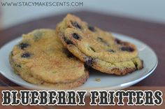 Trim Healthy Tuesday: Blueberry Fritters (S) blueberri fritter