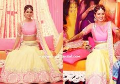 geeta basra wedding mehendi dress - Google Search
