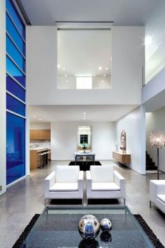 Clean Modern Living Area