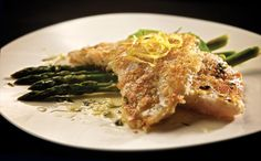 Chef Darryl Riddle, Le Garage Café A herbaceous crust coats tender pickerel fillets that flake with the light touch of a fork. Drizzle a light lemon-basil sauce for perked up tang. Ingredients Pickerel 3 Tbsp fresh thyme leaves 1 cup panko 1 tsp salt 1 tsp pepper 1 egg 4 pickerel fillets 1 Tbsp oil …