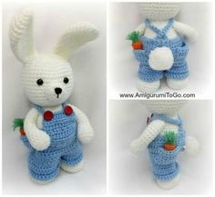 Adorable Crochet Bunnies Free Patterns