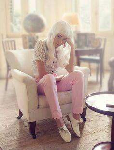 Look by Juli Santini Mirá más >>> http://fashion-diaries.com/rosa-rosa/