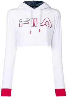 8cc0eaa33871 Fila Cropped Sweatshirt - Farfetch