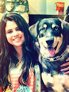 Selena Gomez- Star Snapshots: Celebrities with Their Dogs - iVillage