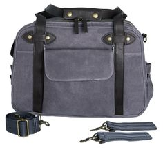 Waxed Charcoal Charlie Bag (Limited Edition)   SoYoung USA   converts to a backpack