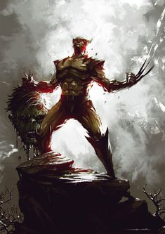 marvel,wolverine-Wolverine vs the Hulk. Marvel Vs, Marvel Comics Art, Marvel Heroes, Disney Marvel, Captain Marvel, Wolverine Art, Logan Wolverine, Deadpool Wolverine, Wolverine Images