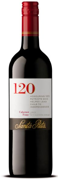 """120 Santa Rita.  Chile should focus on Cabernet Franc for its future fine wines according to Santa Rita winemaker Carlos Gatica, following plantings in a newly-created region.  Gatica described the results of Cabernet Franc-based wine from five-year old vines in Pumanque, a new coastal DO within the Colchagua Valley, as """"elegant and interesting""""."""