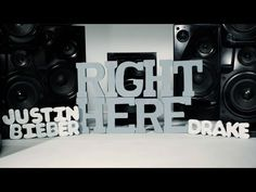 Justin's latest video, Justin Bieber - Right Here (Lyric Video) ft. Drake #Justin