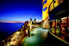 There is nothing like detaching from the rest of the world to ignite the sparks of romance that are silenced by everyday life - Costa Cruises