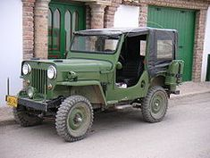 jeep cj 3b in spruce tip green white rims learned to drive on one 4wd nation pinterest. Black Bedroom Furniture Sets. Home Design Ideas
