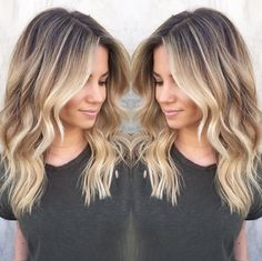 Love love love this color and relaxed wavy look! Beautiful!