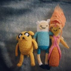 Adventure Time Army! **Now with 3 patterns & MORE PICTURES** - CROCHET