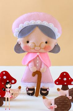 grandma puppet