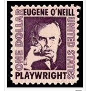 Eugene ONeil stamp issued New London, 1967