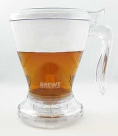 A revolutionary way to brew your tea both hot and cold! Simply rest the BREWT over your mug. Good for making tea, coffee or hot chocolate.