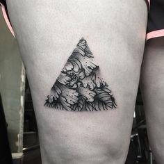 Tattoo by meeeee! Canada Tattoo, Tag Photo, Black N White, Tattoo Inspiration, Blackwork, Ink, Tattoos, Instagram Posts, Irezumi