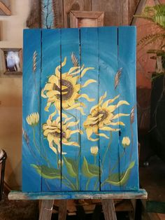 Sunflowers art by Stacie Sheets