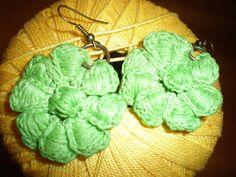 Le Perline di ElisaLisetta: Orecchini Uncinetto