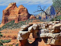 Merry-Go-Round Arch - Sedona, Arizona