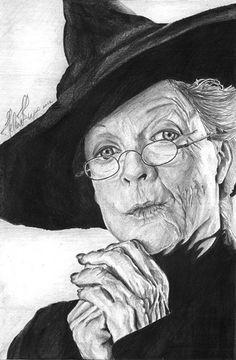 Minerva - professor-mcgonagall Fan Art