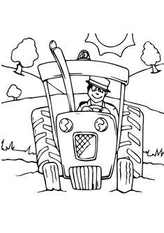 tractor para colorir - Pesquisa Google | közlekedési eszközök ...