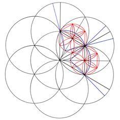 sacred geometry flower of life.
