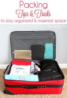 Sugerencias para Viajes  Cómo empacar en forma organizada.