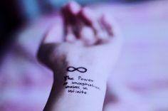20 Fotos de Tatuagens com o Símbolo do Infinito